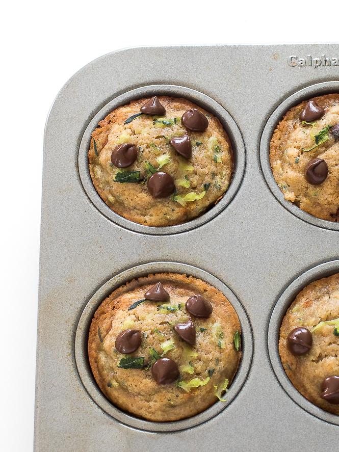Zucchini Muffins | chefsavvy.com