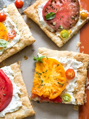 How To Make Heirloom Tomato Tart recipe