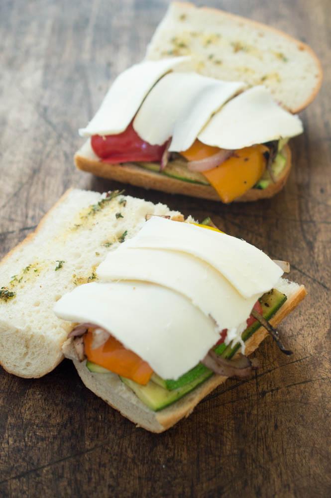 Vegetable Panini   chefsavvy.com