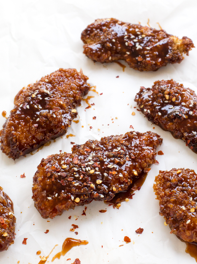 Amazing Sweet and Spicy Asian Chicken Tenders