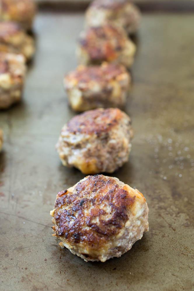 Super Tender Italian Meatballs | chefsavvy.com #recipe #meatballs #Italian