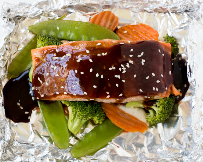 how to cook fish in the oven in foil