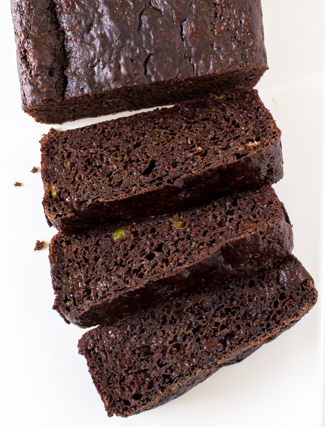 Double Chocolate Zucchini Bread | chefsavvy.com