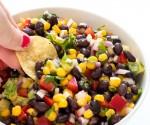 Avocado Corn and Black Bean Salsa