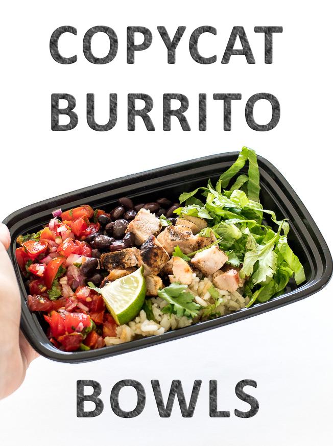 Copycat Chicken Burrito Bowls | chefsavvy.com
