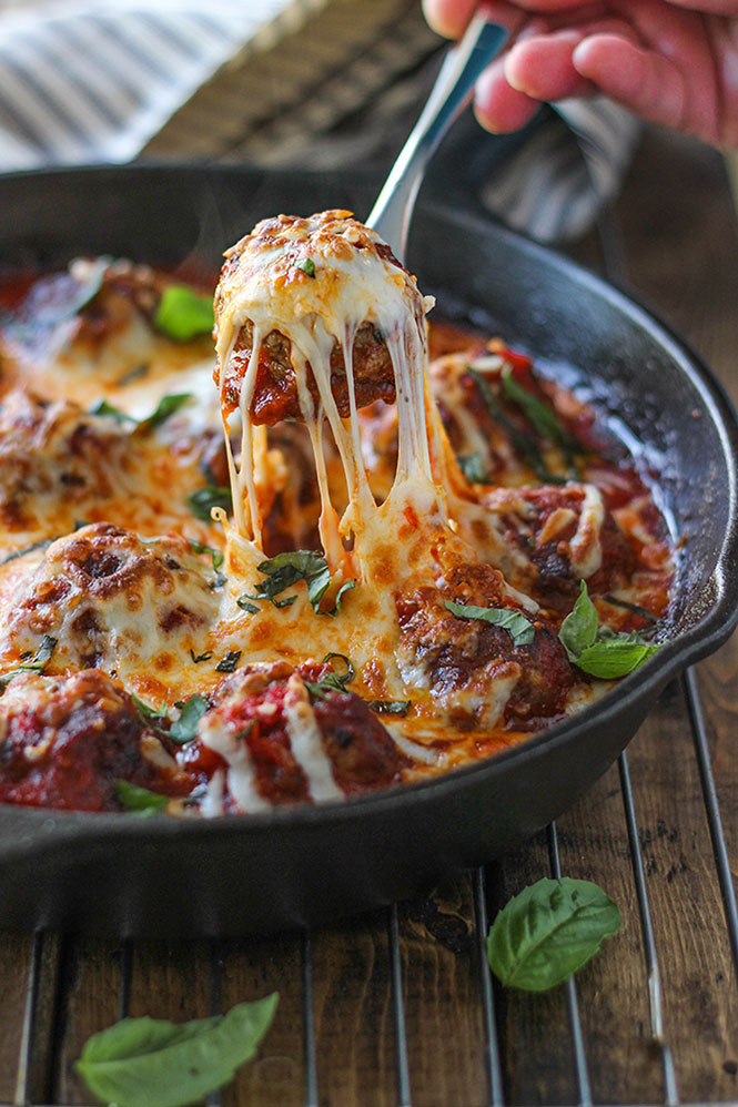 cheesy-meatball-skillet-5