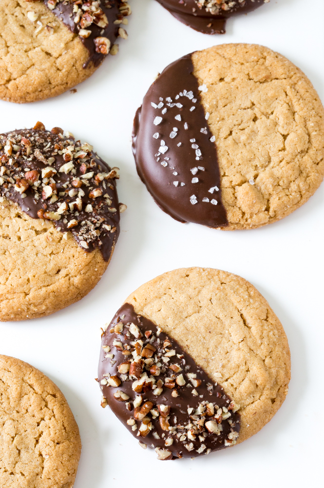 Chocolate Peanut Butter Soft Cookies