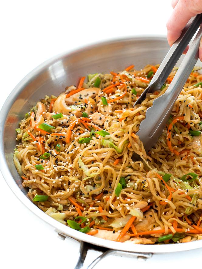 Chicken Chow Mein Recipe Ready In Under 30 Minutes Chef Savvy