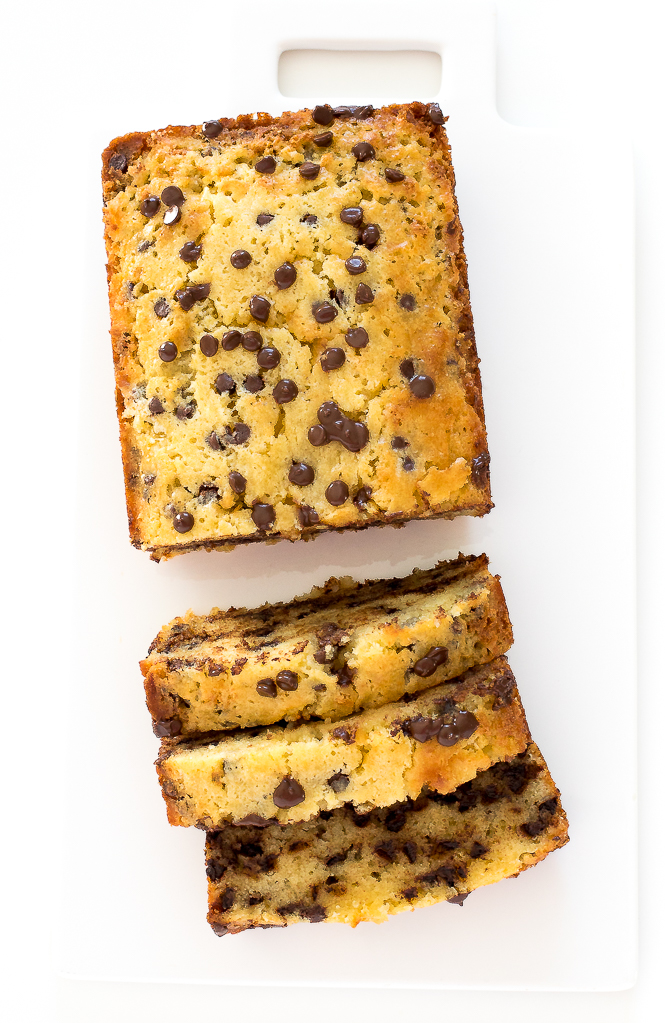 Chocolate Chip Pound Cake | chefsavvy.com