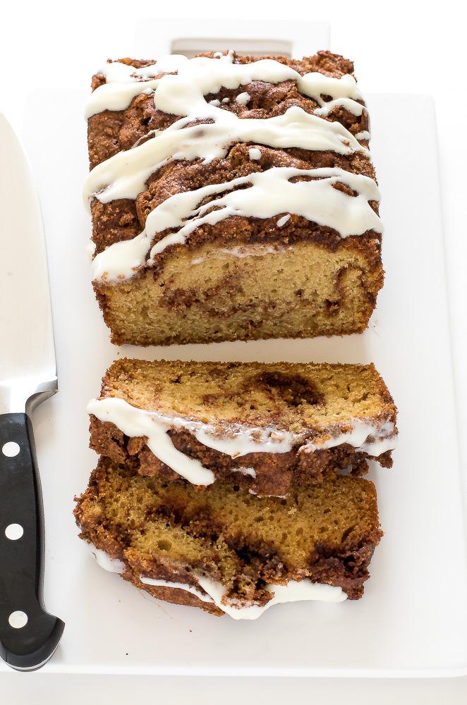 Cinnamon Swirl Quick Bread | chefsavvy.com