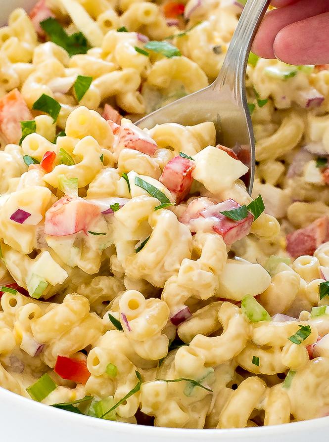 Macaroni Salad Recipe Large Quantity