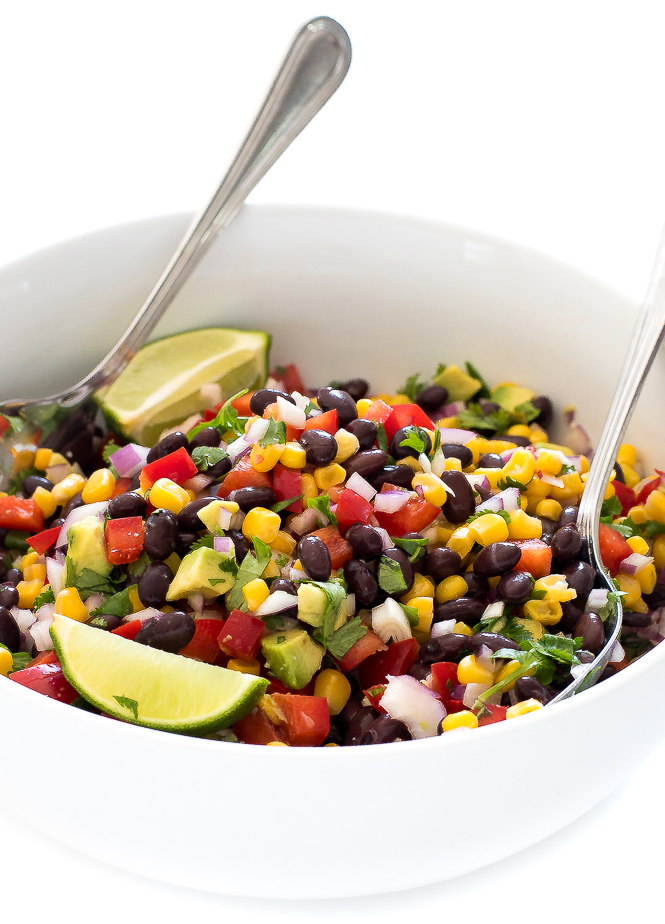 Corn and Black Bean Salsa | chefsavvy.com