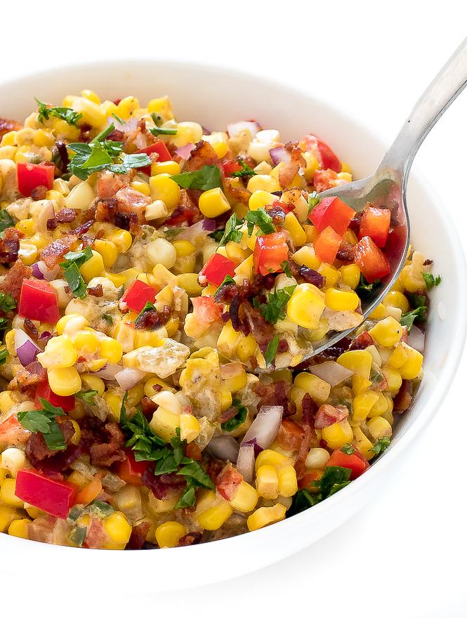 Creamy Mexican Corn | chefsavvy.com