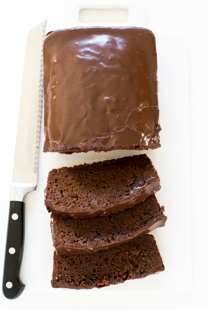 Double Chocolate Loaf Cake