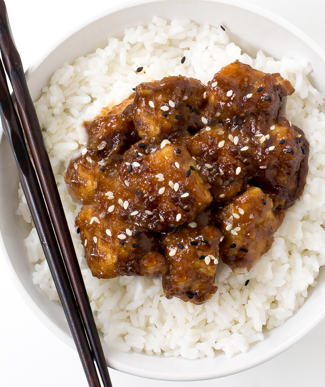 30 minute General Tso Chicken