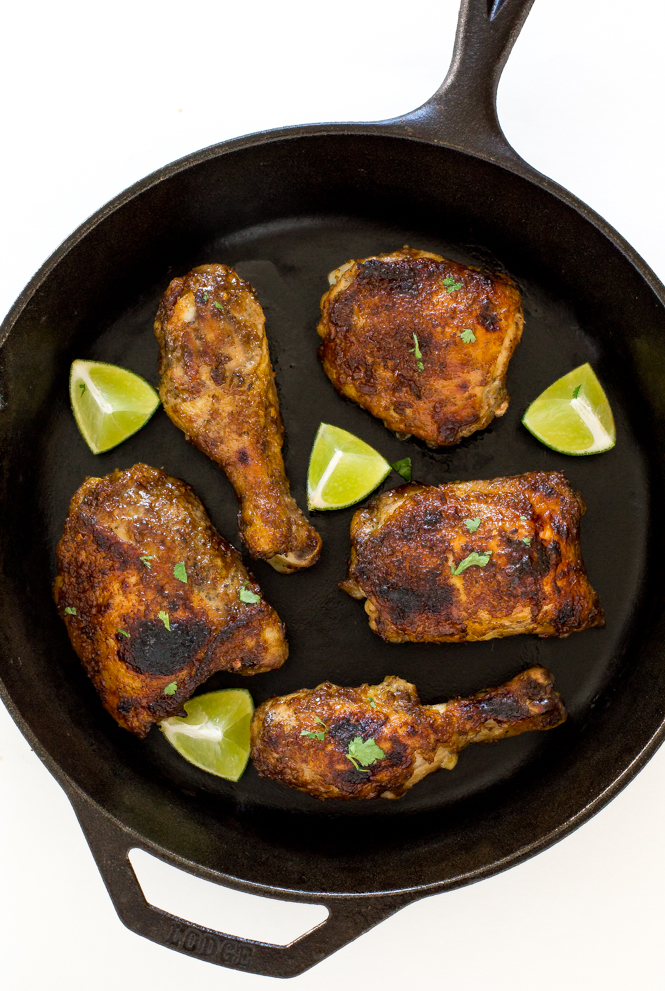 Baked Jerk Chicken Recipe | chefsavvy.com