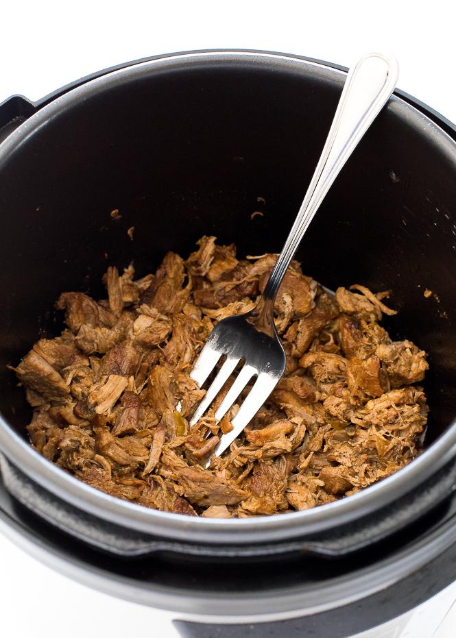 Easy Instant Pot Pork Carnitas   chefsavvy.com