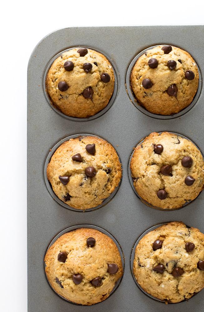 Easy Chocolate Chip Muffins   chefsavvy.com