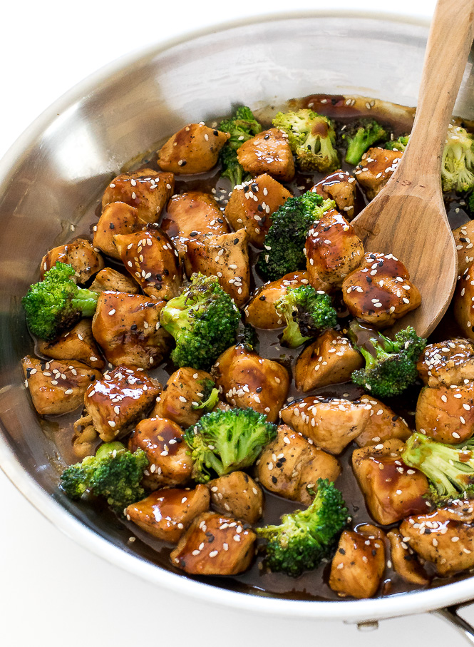 Honey Garlic Chicken Stir Fry - Chef Savvy