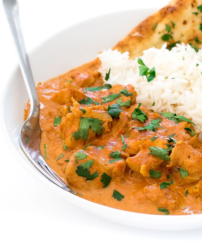 Easy Instant Pot Butter Chicken | chefsavvy.com