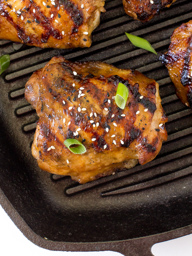 Korean Grilled Chicken Recipe — Dishmaps