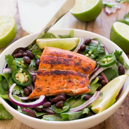 Mexican Salmon Salad