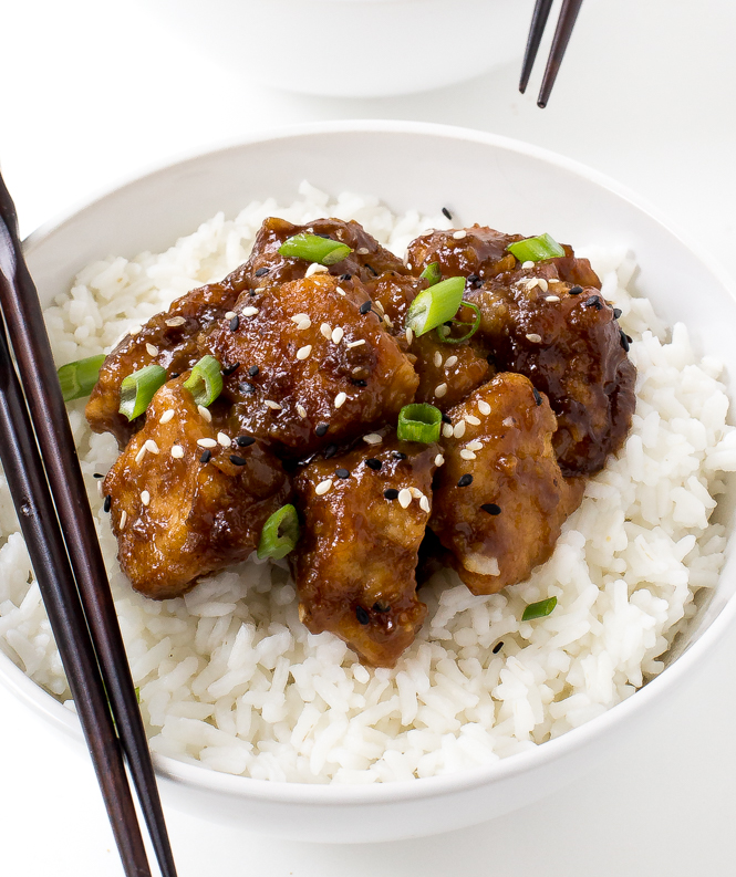 Slow Cooker General Tso's Chicken1