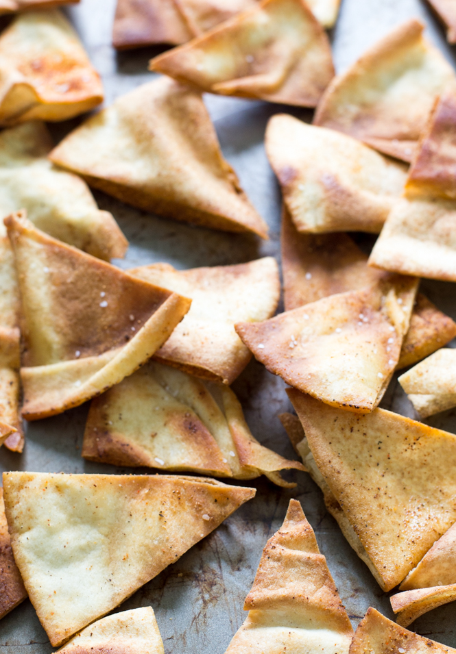 Easy Spicy Pita Chips