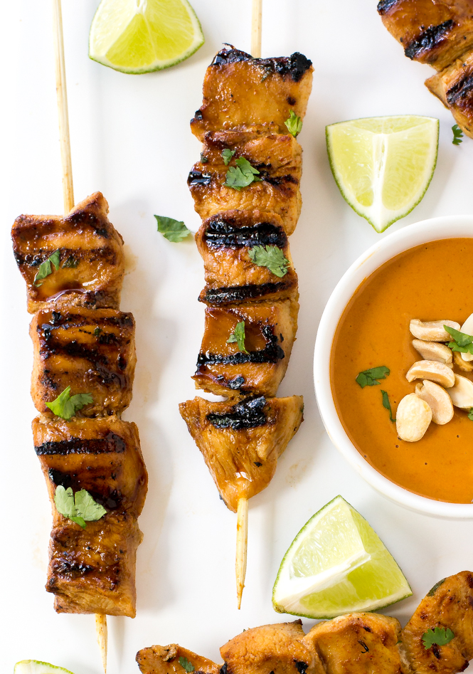 Easy Chicken Satay | chefsavvy.com