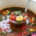 easy-tortellini-tomato-spinach-soup