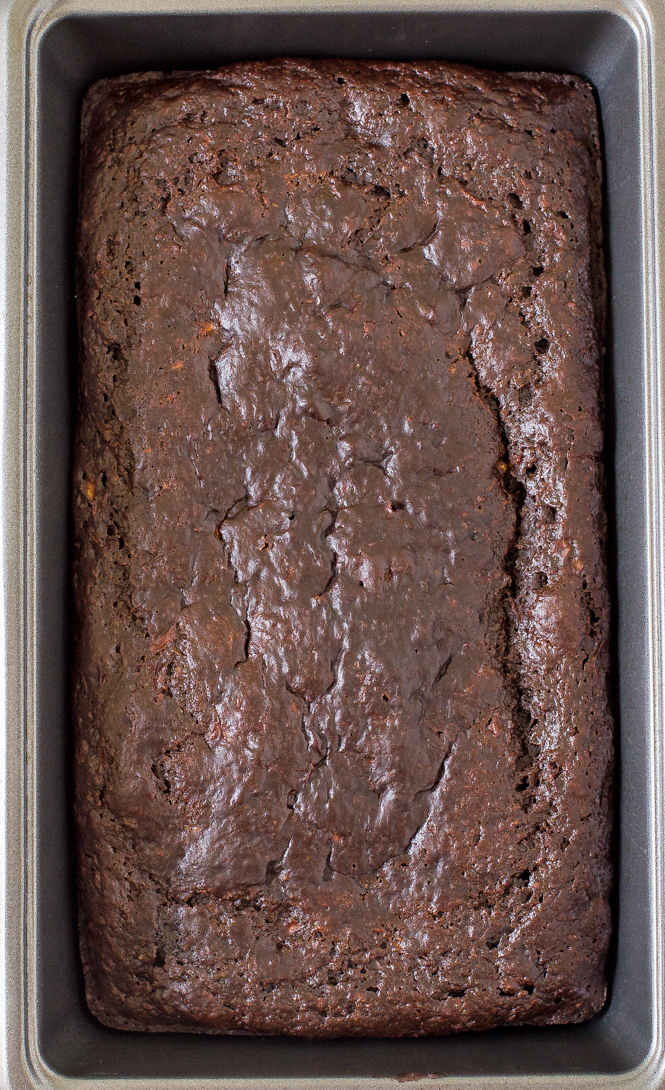 Healthy Chocolate Zucchini Bread | chefsavvy.com