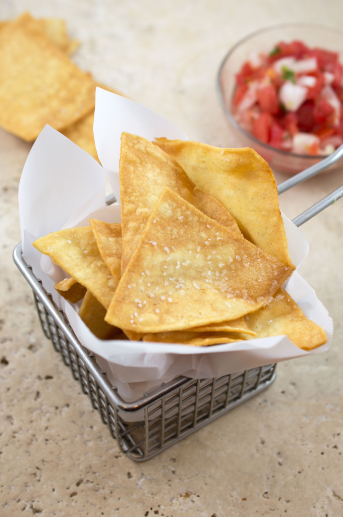 Super Easy Tortilla Chips | chefsavvy.com