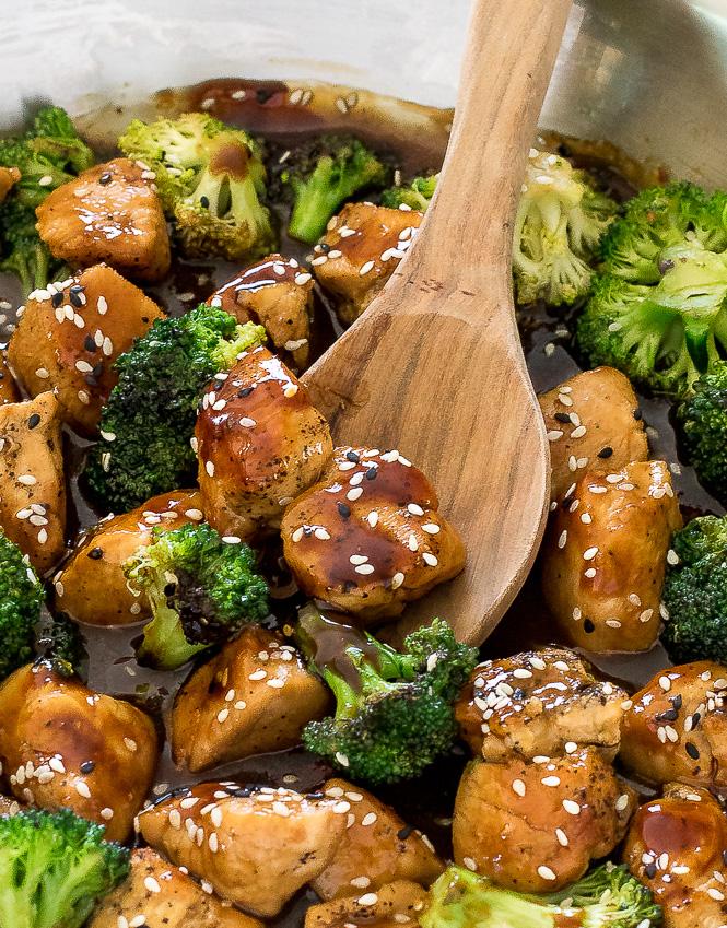 Honey Garlic Chicken Stir Fry Chef Savvy