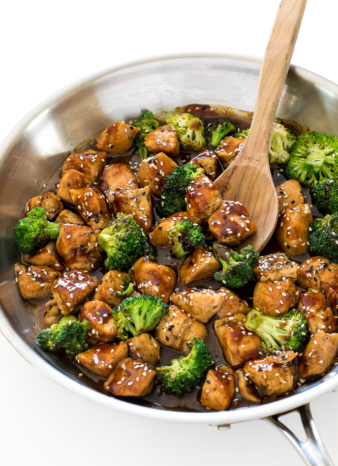 Honey Garlic Chicken Stir Fry 30 Minutes - Chef Savvy-2011