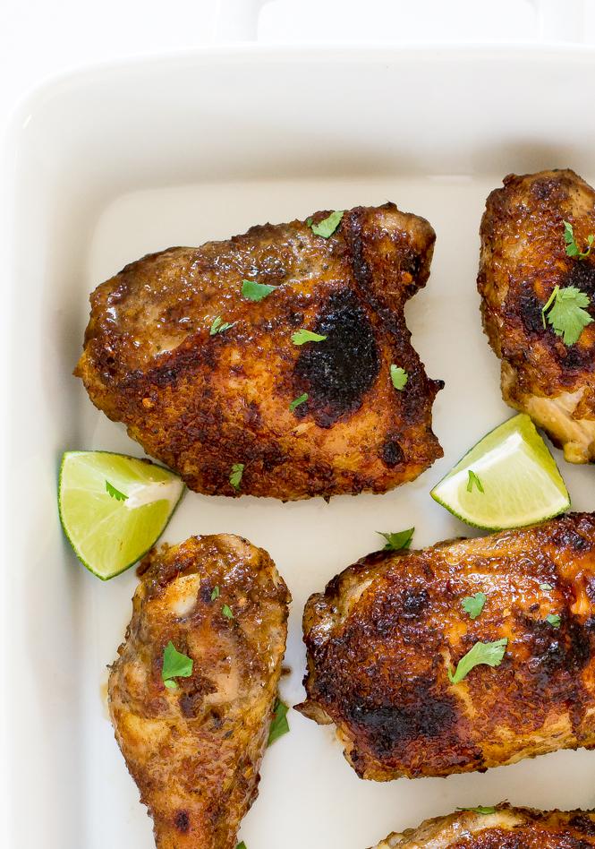 Easy Baked Jerk Chicken Thighs Recipe Chef Savvy