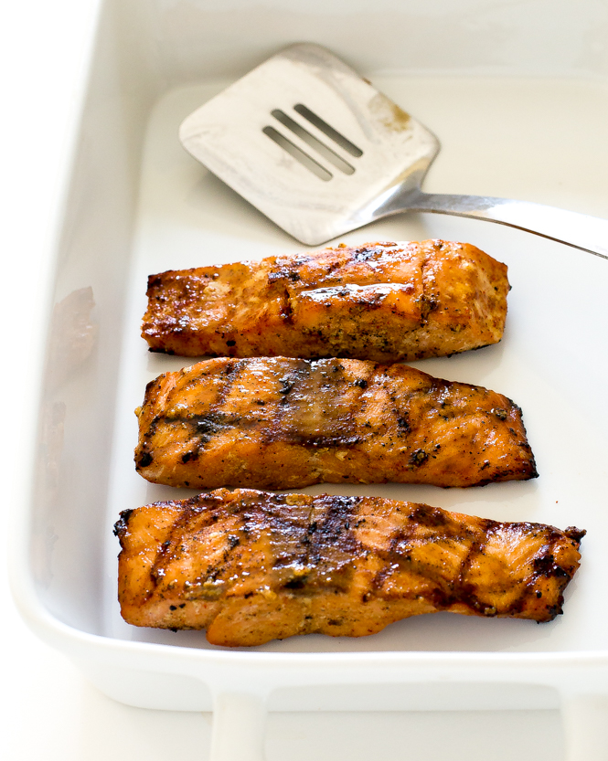 Maple Dijon Salmon | chefsavvy.com