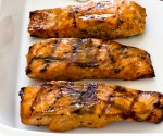 Grilled Maple Dijon Salmon