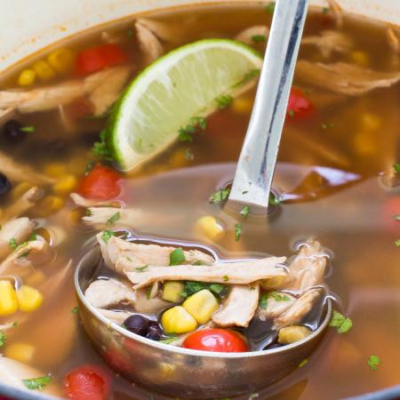 Turkey Tortilla Soup