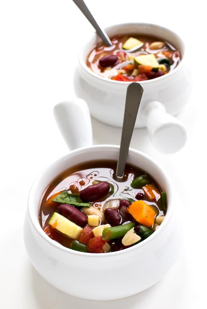 Minestrone Soup | chefsavvy.com