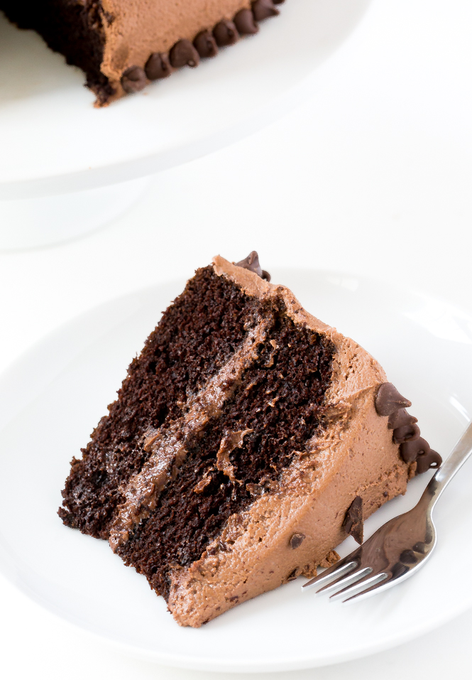 Homemade Chocolate Cake | chefsavvy.com