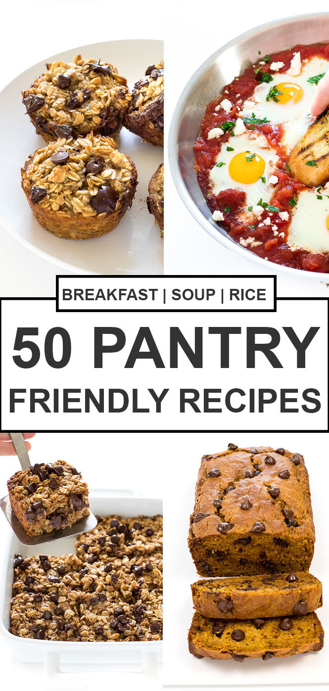 50 Easy Pantry Recipes | chefsavvy.com