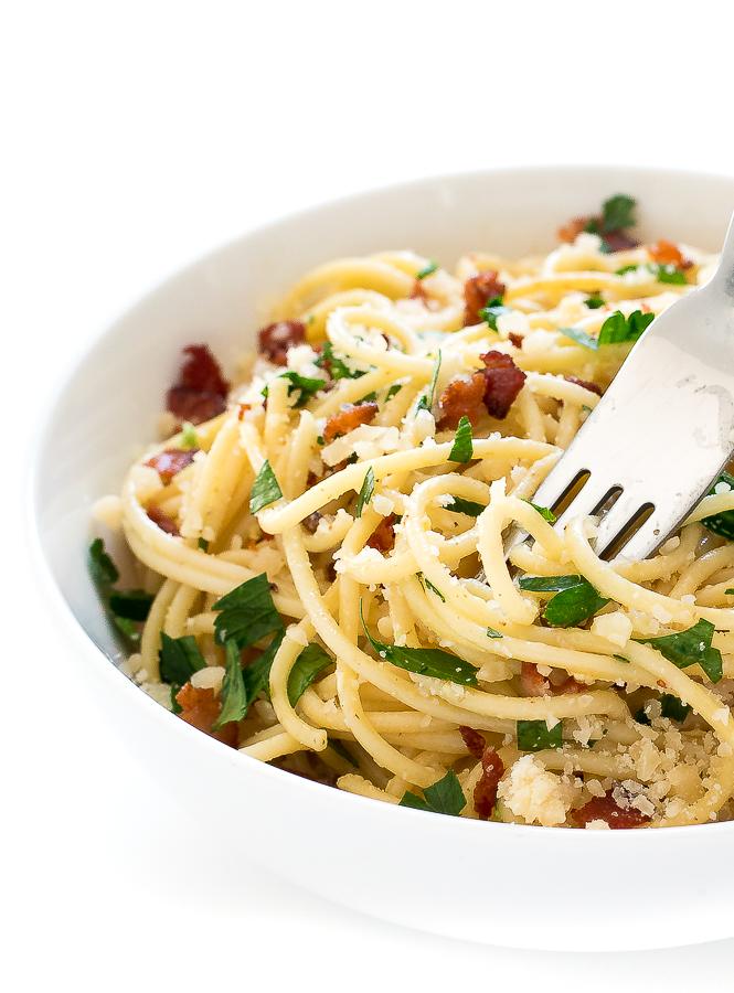 Pasta Carbonara | chefsavvy.com
