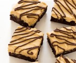 Brownies with Peanut Butter Frosting