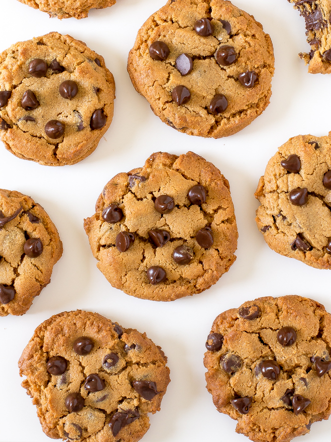 Flourless Peanut Butter Chocolate Chip Cookies Chef Savvy
