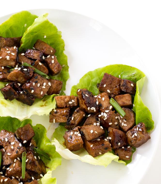 Pork Lettuce Wraps Recipe — Dishmaps
