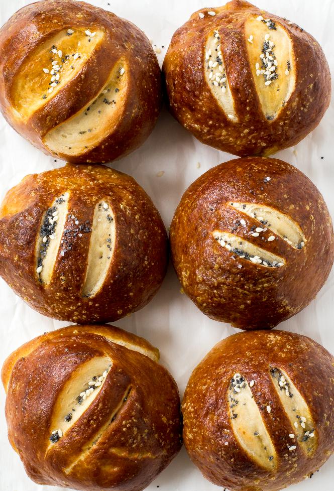 pretzel-rolls