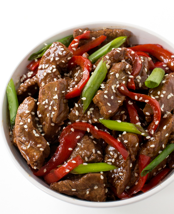 One Of The Best Things About This Sesame Beef Is The Sauce The Sauce Consists Of Brown Sugar Dark Soy Sauce Regular Soy Sauce And Water