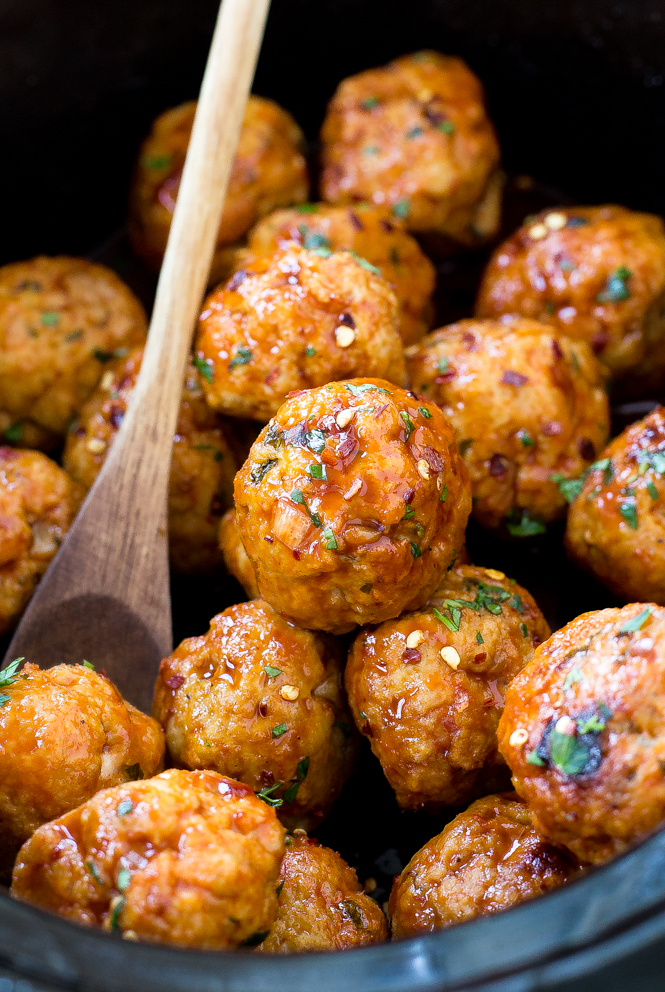 slow-cooker-firecracker-chicken-meatballs