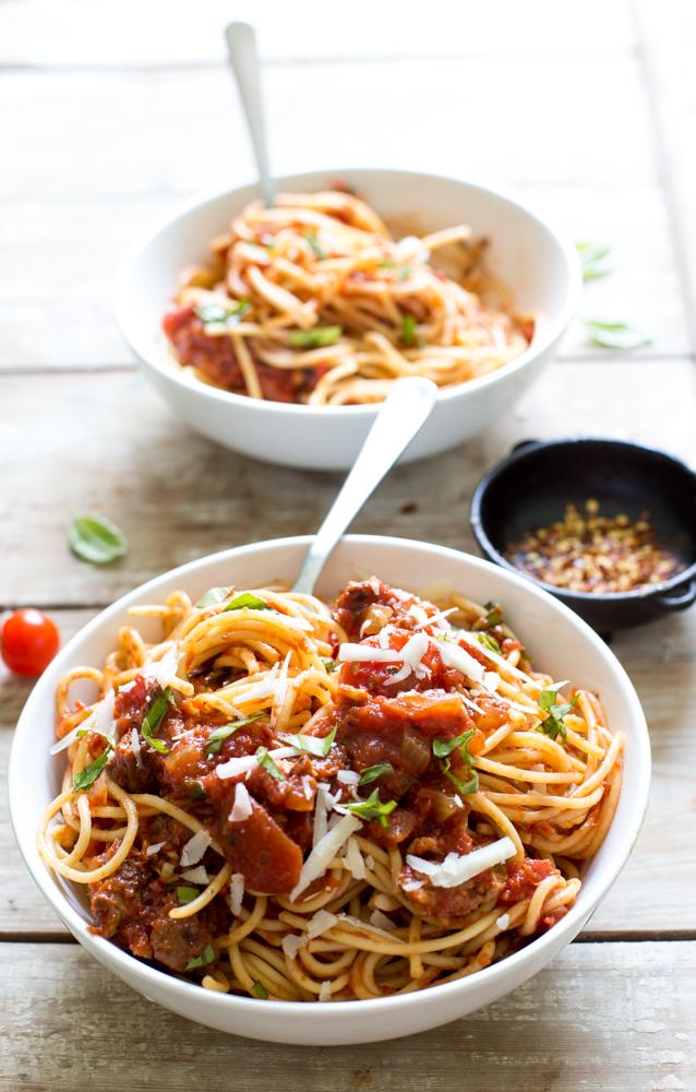 Slow Cooker Tomato Sauce