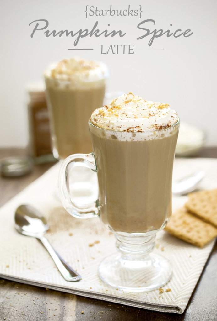 Starbucks Pumpkin Spice Latte Copycat Recipe | chefsavvy.com